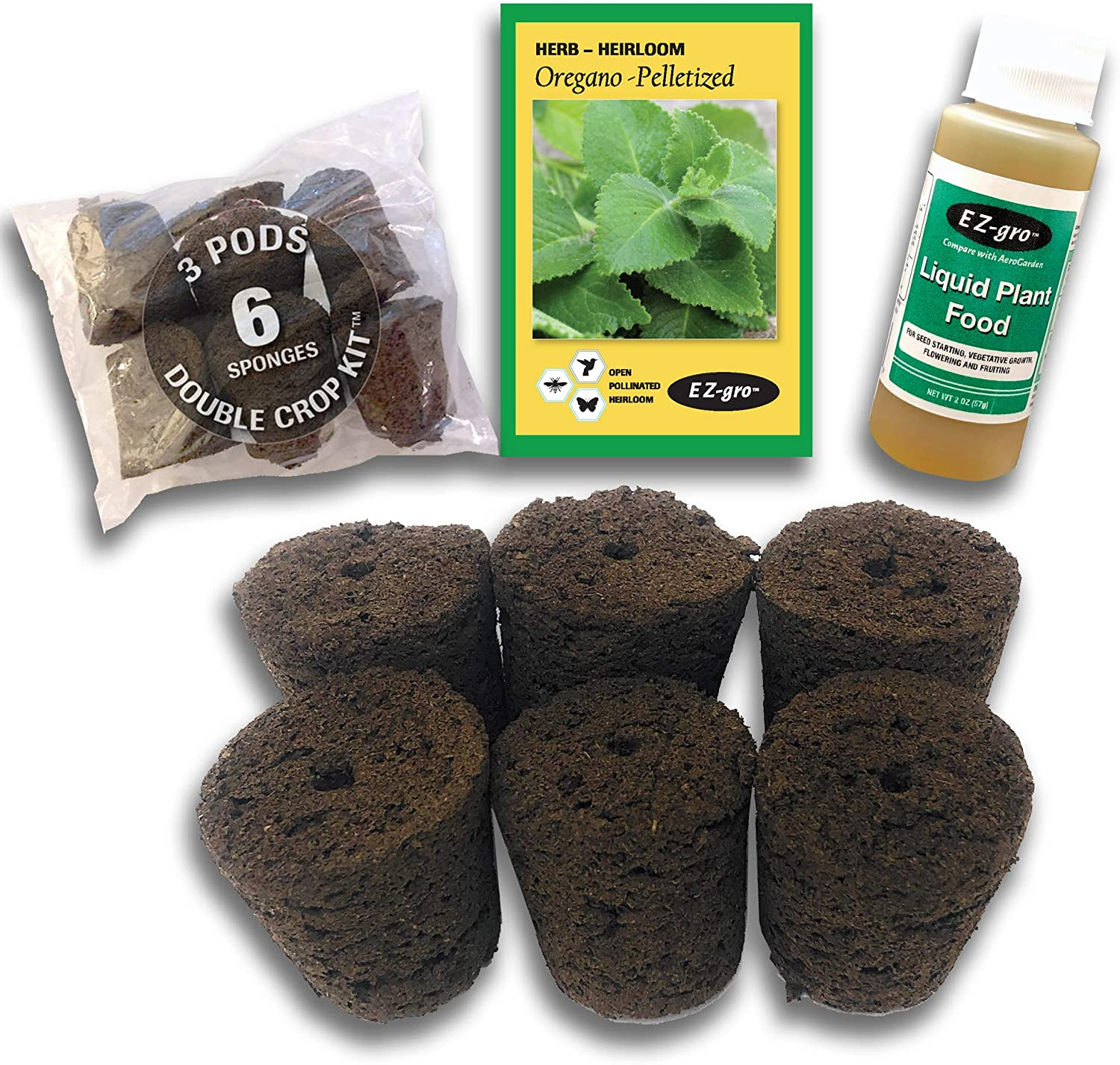 Hydrohort Oregano Max 51% OFF Seed Pod Kit is Compatible Popular popular Click Grow with and