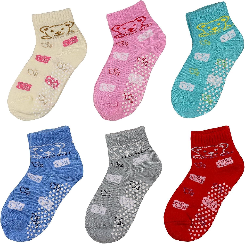 Non skid socks / ankle for girls, toddler, kids, baby, Infants