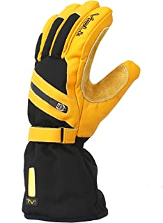 Volt Heated Work Gloves, Cold Weather Gloves, Great for Outdoor Work, 4 Different Heat Settings, Winter Wear, 150 Degree Heating