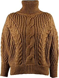 SUNJIN ARCO Women's Casual Long Sleeve Turtleneck Chunky Cable Knit Pullover Sweater