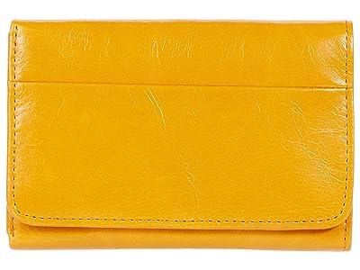 Hobo Jill Trifold Wallet (Mustard) Clutch Handbags