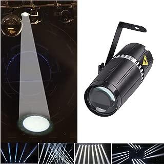 TOM LED 6W white pinspot beam spot stage light