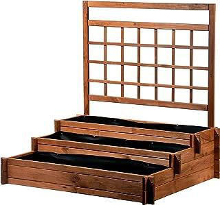 Amazon.es: Cajas - Recipientes para plantas y accesorios: Jardín