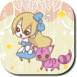Alice Jump Alice in Wonderland Anime Game