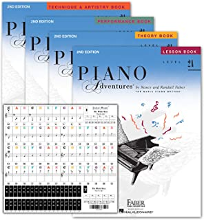 Piano Adventures Level 2A Learning Library Set By Nancy...