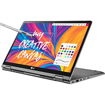 "LG Gram 14T990-U.AAS8U1, 14"" 2-in-1 Ultra-Lightweight Laptop with Intel Core i7 Processor and Wacom Pen, Silver"