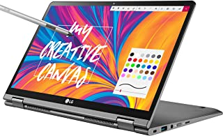 "LG Gram 14"" 2-in-1 Ultra-Lightweight Laptop with Intel Core i7 Processor and Wacom Pen, Silver"
