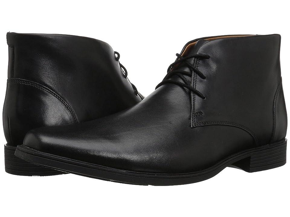 Clarks Tilden Top (Black Leather) Men