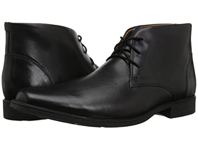 Clarks Tilden Top (Black Leather) Men