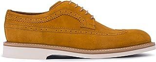 Deery Hakiki Süet Sarı Günlük Erkek Ayakkabı - 01293MSRIE03
