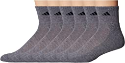 adidas Athletic 6-Pack Quarter Socks
