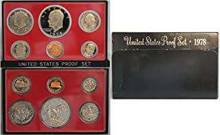 1978 S Proof set Collection Uncirculated US Mint