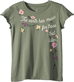 PEEK - Earth Has Music Tee (Toddler/Little Kids/Big Kids)