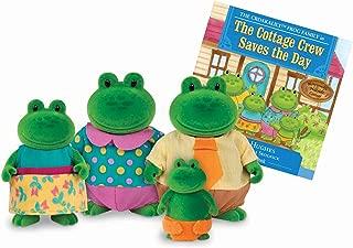 Li'l Woodzeez Croakalily Frog Family 5 Piece Set