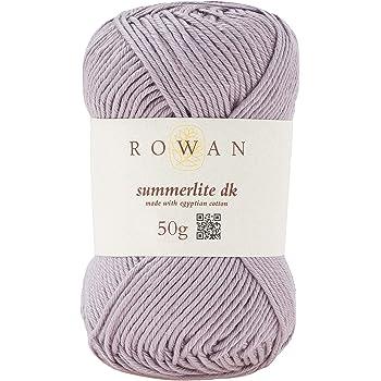 Rowan 9802191-00454 Hilo para Tejer a Mano, 100% algodón, Mushroom, Talla única: Amazon.es: Hogar