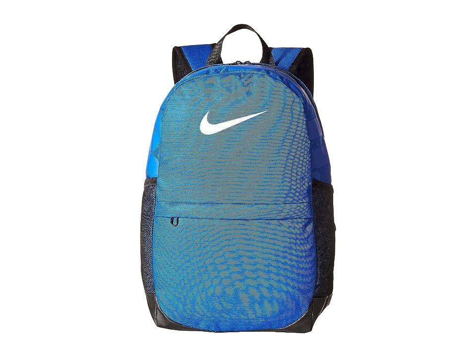 Nike Kids Brasilia Backpack (Little Kids/Big Kids) (Game Royal/Black/White) Backpack Bags