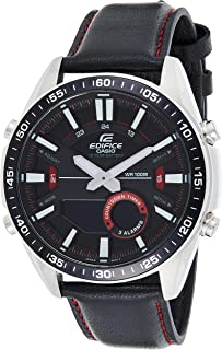 Casio Edifice Analog-Digital Black Dial Men's Watch-EFV-C100L-1AVDF (EX441)