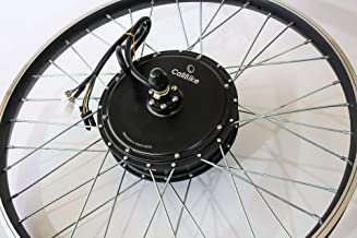 3000W/5000w Peak Hub Motor Electric Bike (ebike) Conversion Kit with Optional 72v Battery + LCD+ Disc Brake Rear Wheel