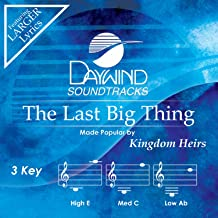 The Last Big Thing Accompaniment/Performance Track