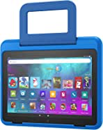 Amazon Kid-Friendly Case for Fire HD 8 tablet (Only compatible with 10th generation tablet, 2020 release), Sky Blue