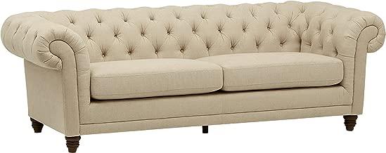 Stone & Beam Bradbury Chesterfield Tufted Sofa Couch, 92.9