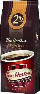 Tim Horton's 100% Arabica Medium Roast, Original Blend, Whole Bean Coffee, 32 Ounce (Pack of 1)