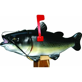 River/'s Edge Products REP Giant Lure Mailbox Bass Exclusive Color