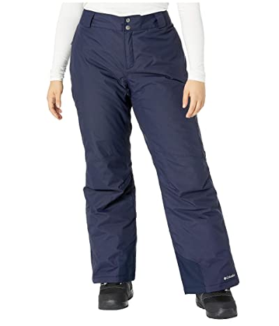 Columbia Plus Size Bugabootm Omni-Heat Pants (Dark Nocturnal) Women