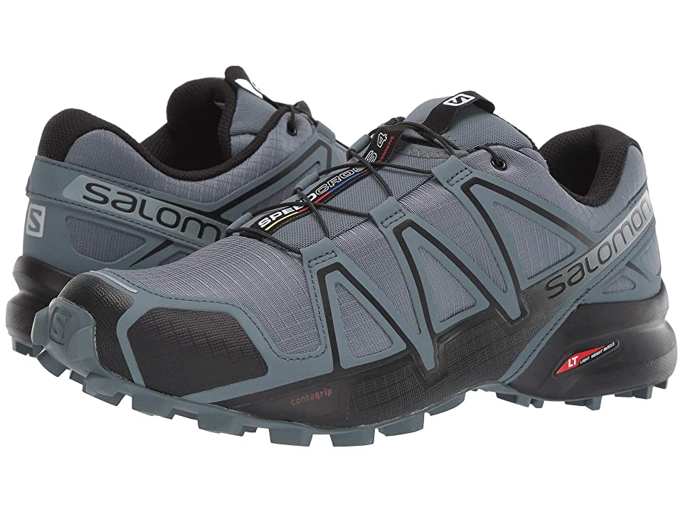 Salomon Speedcross 4 (Stormy Weather/Black/Stormy Weather) Men's Shoes