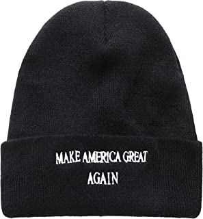 SSLR Adult Thick Make America Great Again Knit Winter Beanies
