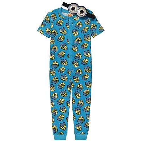 Jcb Digger Boys Onesie Pyjamas Yellow