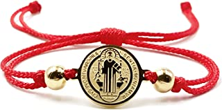 Red String St Benedict Medal Protection Bracelet