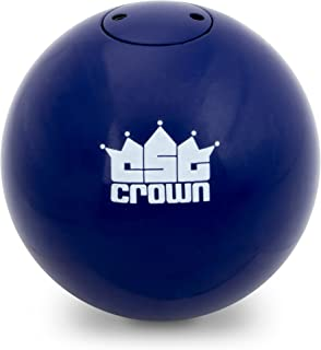 Crown Sporting Goods 2.72kg (6lbs) Shot Put, Cast Iron Weight Shot Ball – Great for Outdoor Track & Field Competitions, Practice, Training