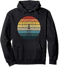 Antenna Retro Sunset HAM Radio - Amateur Radio Operator Gift Pullover Hoodie