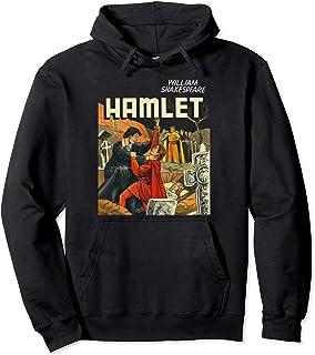 Vintage Hamlet Shakespeare Tshirt-Hamlet Laertes Ophelia Tee Pullover Hoodie
