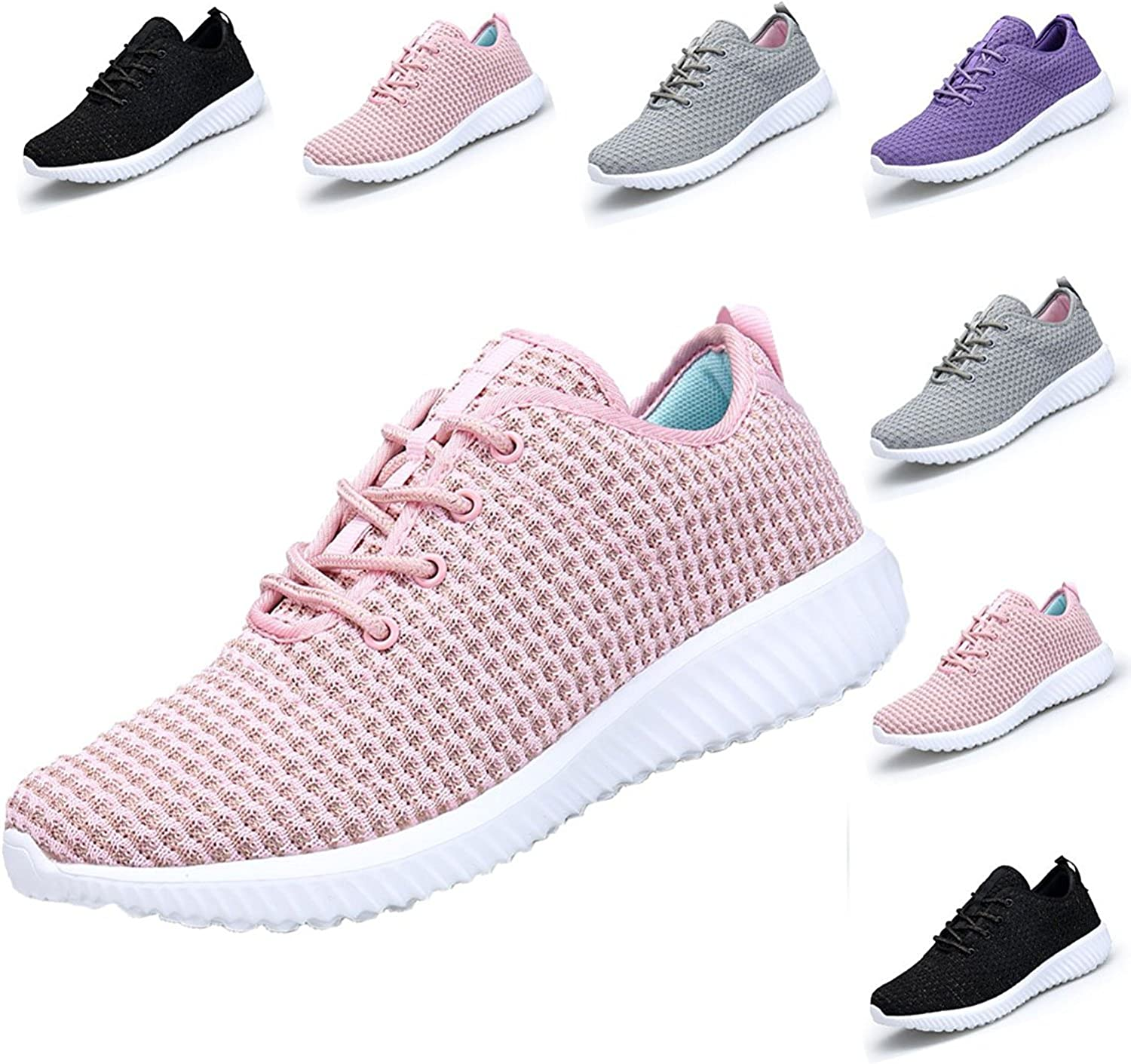 DOMOGO Kumikiwa Womens Sneakers Casual shoes Sport Running Breathable Walking shoes Plus Size