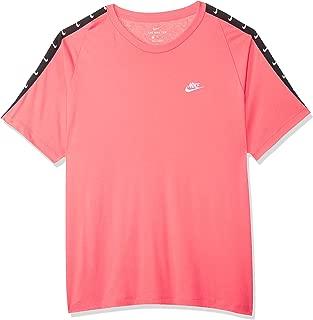 Nike Men's NSW Tee HBR Swoosh 2, Pink(Pink Gaze/ White668), 2X-Large