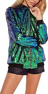 Mujer Chaquetas Elegantes Retro Estampadas De Flores Bomber Jacket Invierno Ni/ñas Ropa Oto/ño Manga Larga Stand Cuello con Cremallera Abrigos Casual Moda Etnicas Estilo Outerwear Coat