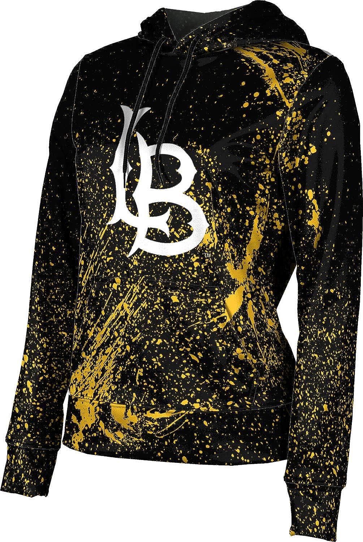 ProSphere California State University Long Beach Girls' Pullover Hoodie, School Spirit Sweatshirt (Splatter)