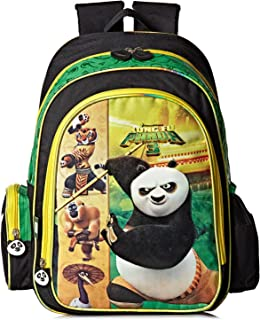 Dreamworks Kung Fu Panda 3 School Backpack for Boys - Green