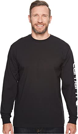 Carhartt - Long-Sleeve Graphic Logo T-Shirt