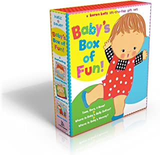 Baby's Box of Fun: A Karen Katz Lift-the-Flap Gift Set: Where Is Baby's Bellybutton?; Where Is Baby's Mommy?: Toes, Ears, & Nose!