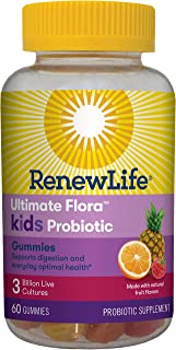 Renew Life Ultimate Flora Probiotic Gummies, 60 Count