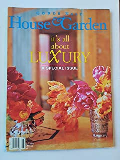 Code Nast House & Garden Magazine September 1997 IT's All About LUXURY - A Special Issue