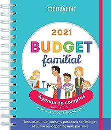 Budget familial : Agenda de comptes pour la famill
