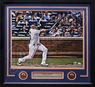 """Pete Alonso Rookie Record Home Run #53 New York Mets Autographed 16"""" x 20"""" Framed Baseball Photo - Fanatics Authenticated"""