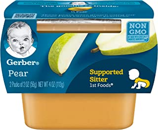 pears first baby food