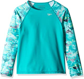 Speedo Printed Long-Sleeve Rashguard