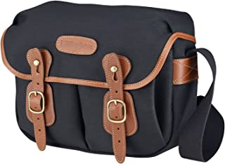 Billingham Hadley Small Camera Bag (Black Canvas/Tan Leather)