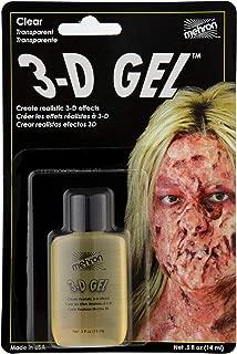 Mehron Makeup 3-D Gel (.5 oz) (Clear)